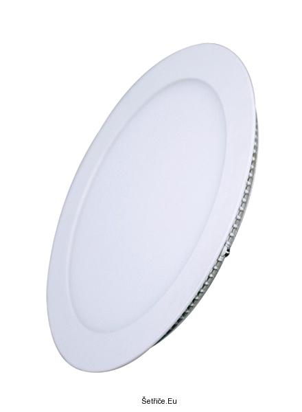 Solight LED mini panel, podhledový, 6W, 400lm, 4000K, tenký, kulatý, bílý WD102