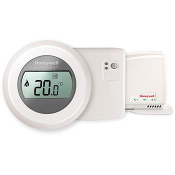 Honeywell evohome Round Connected Y87RFC2074, sada termostat, relé, gateway